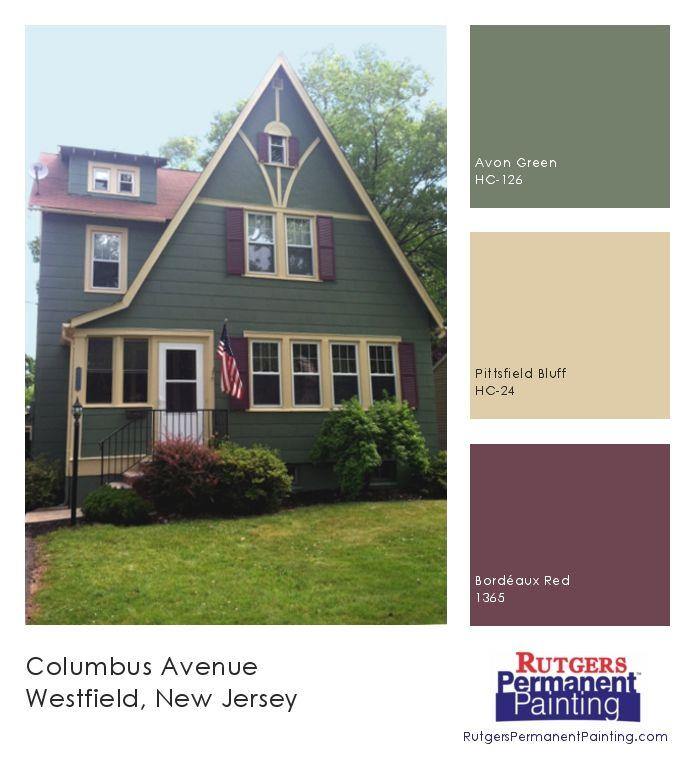 Rutgers Permanent Painting Tag Exterior Color House Paint Exterior Primitive Homes Green Exterior House Colors