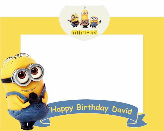 Minions photo frame | Photo booth | Pinterest | Minion photos ...