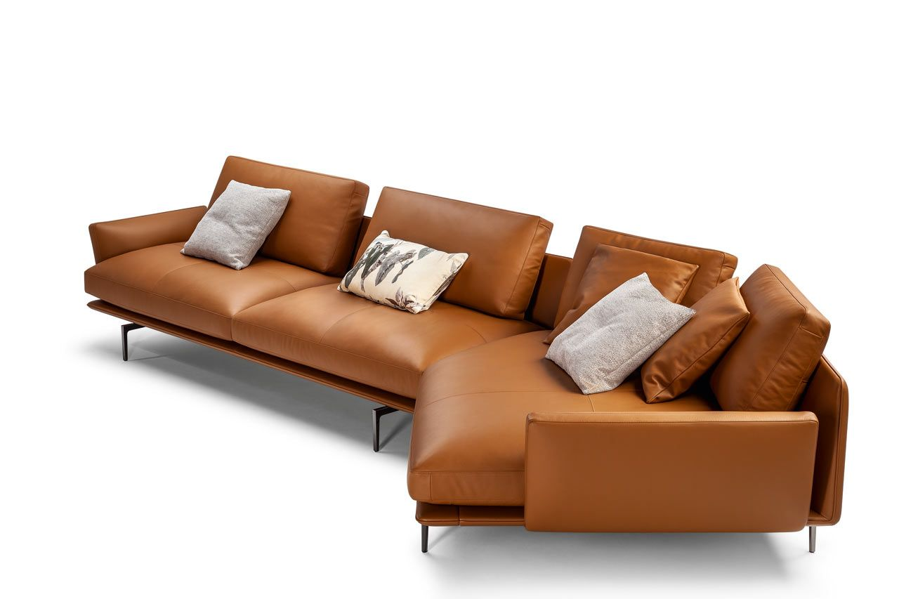 The Beatles Inspired Get Back Sofa By Ludovica Roberto Palomba Leather Sofa Modern Leather Sofa Sofa