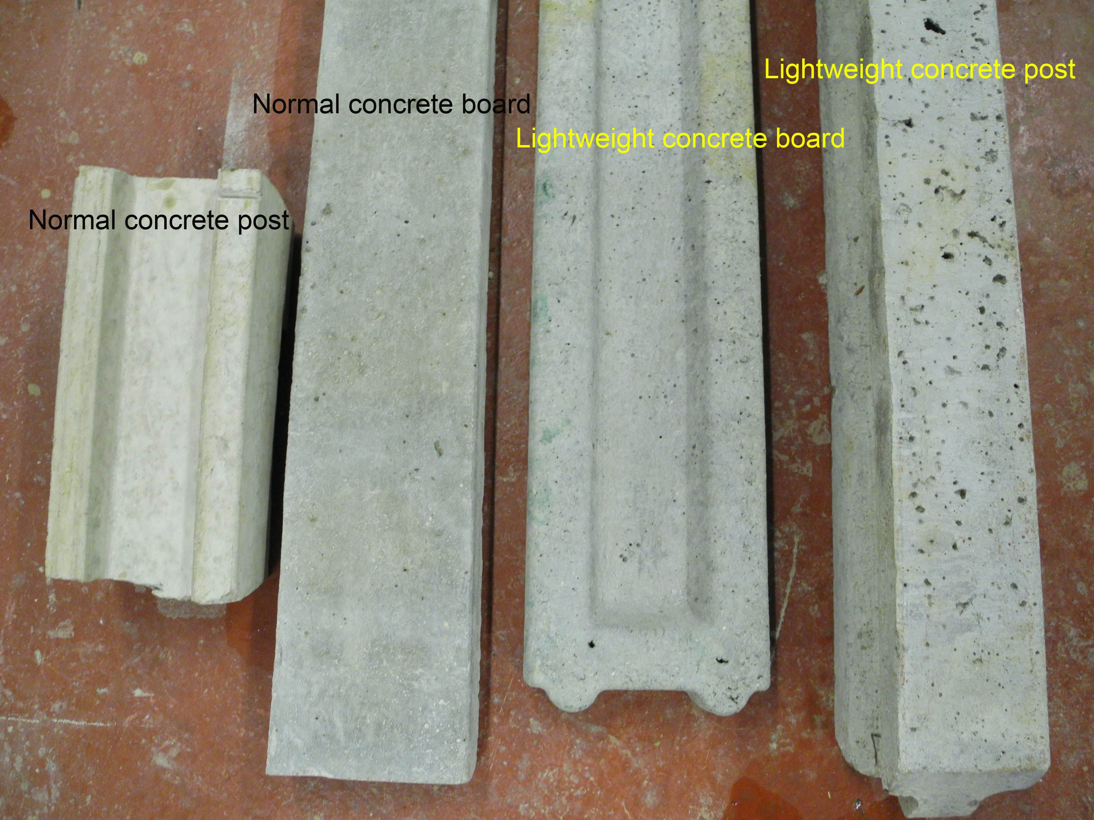 How to chose concrete fence post and gravel boards Some of the