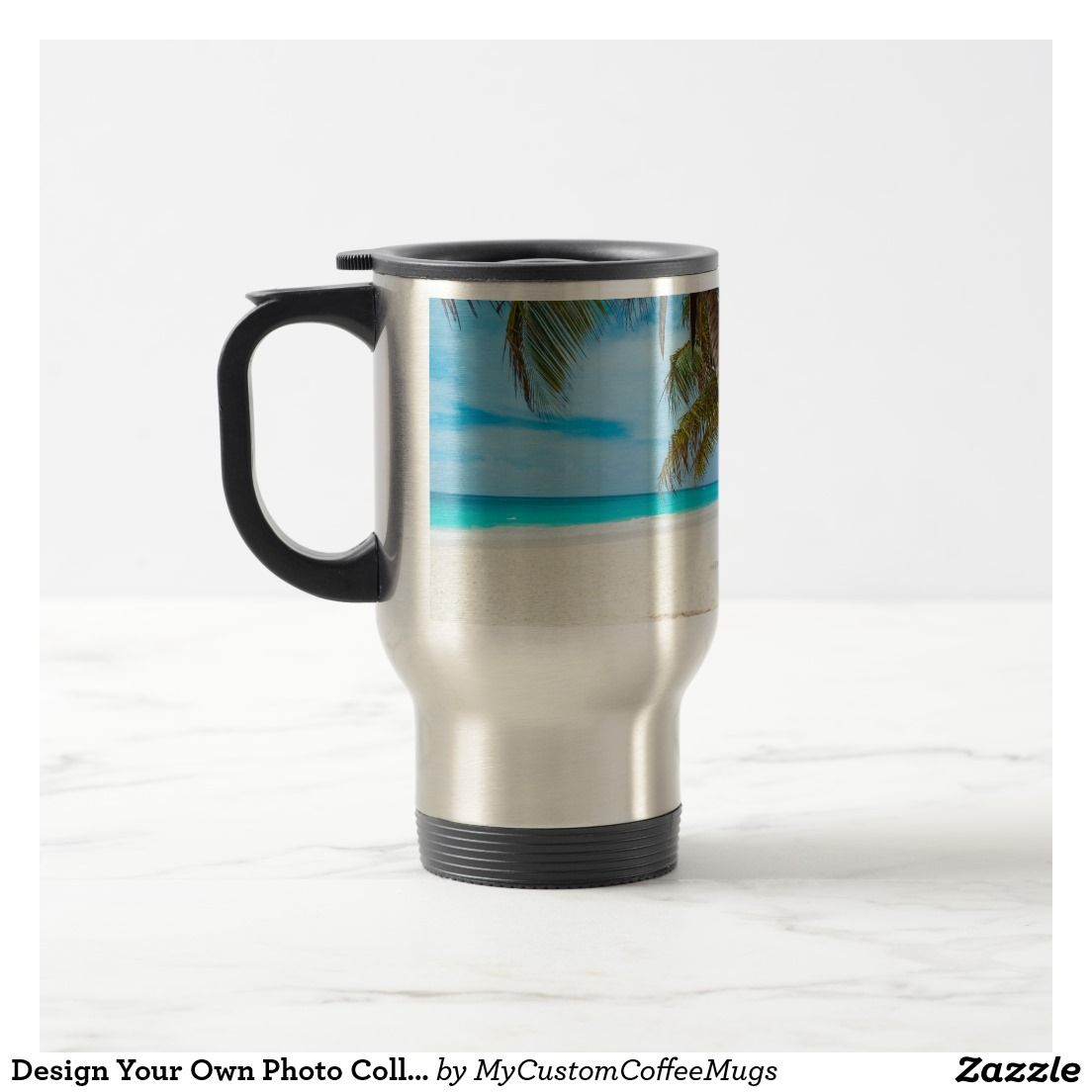 Design Your Own Photo Collage Coffee Mug   Zazzle.com ...