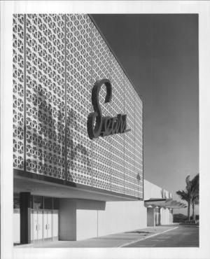 Sears Ala Moana 1959 Vintage Hawaii Ala Moana Honolulu Photo