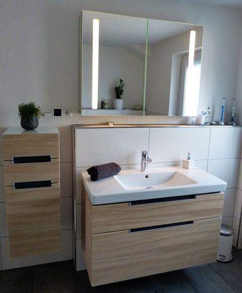 Unsere Wohlfühloase \u2013 das neue Badezimmer Pinterest Armario y Baño