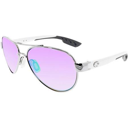 Costa Loreto Metal Frame Green Mirror Lens Unisex Sunglasses LR21OGMP