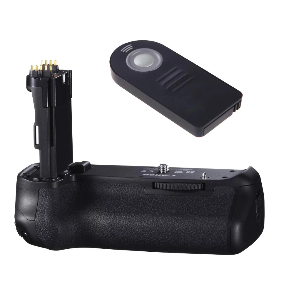 Canon Bg E14 Battery Grip For Canon Eos 70d And 80d Dslr Cameras With Wireless Shutter Release Remote In 2020 Dslr Camera Dslr Camera Shutter Speed