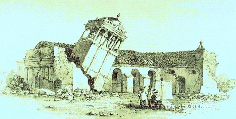 Catedral de San Salvador en ruinas (hoy en predio de la iglesia El ...