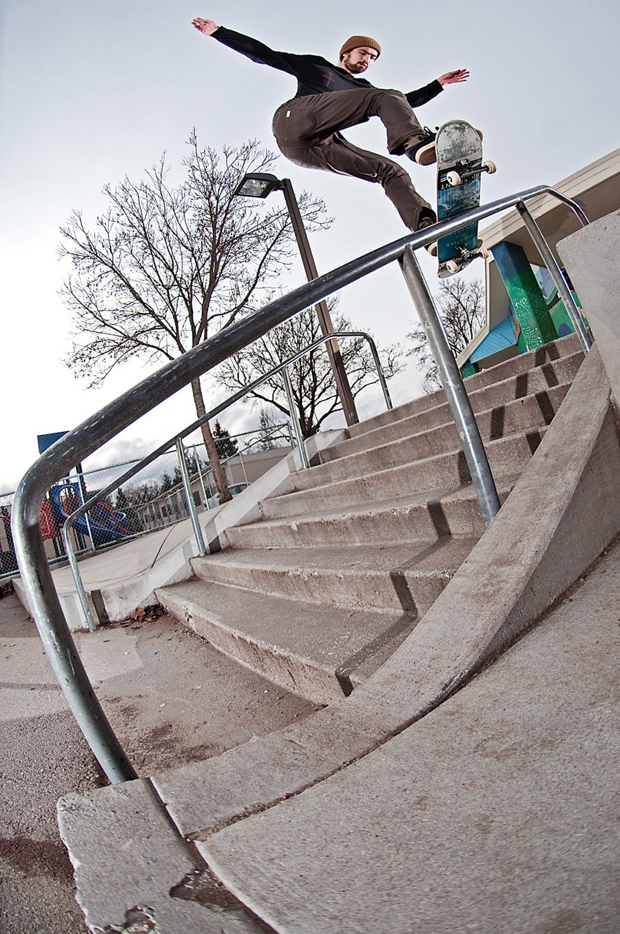 Don Nguyen - Bs Board Slide Skateboard Rails 197ee12299d