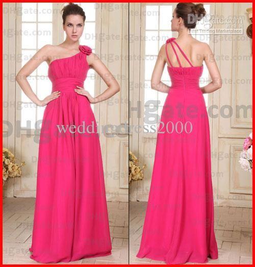 Simple melon color dresses