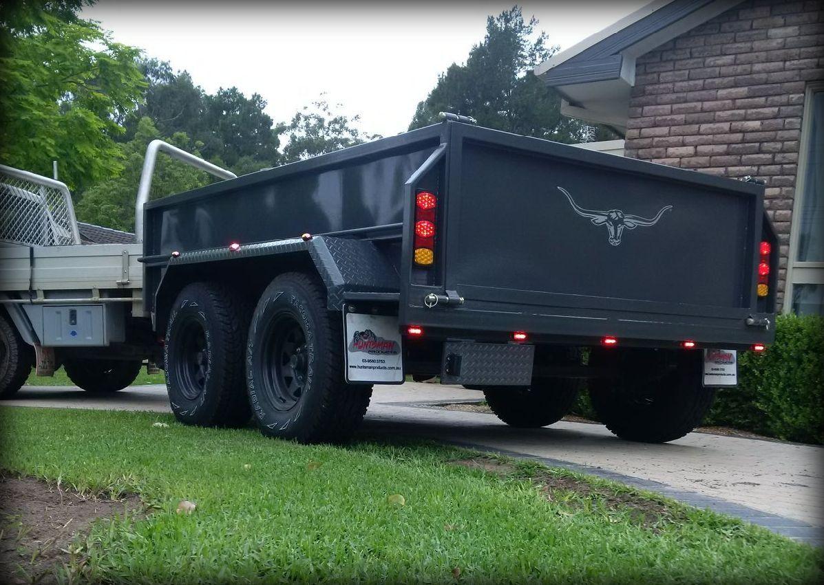 Troy S Hydraulic Tipping Trailer Trailer Plans Dump Trailers Trailer Plans Trailer
