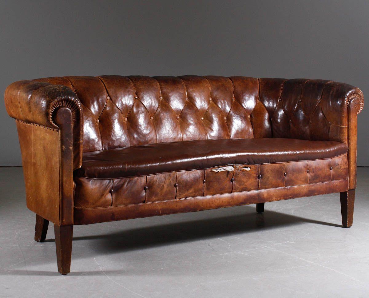 Prime English Couch By Club Model Circa 1930S Sofas 1930S Frankydiablos Diy Chair Ideas Frankydiabloscom