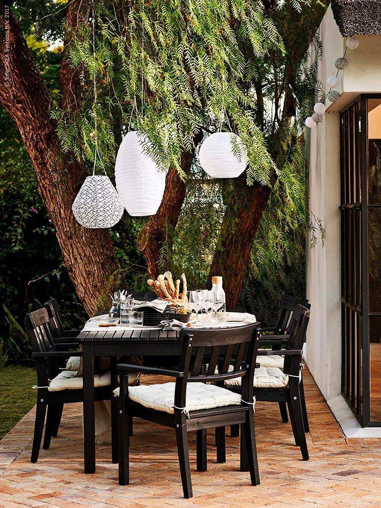10 Money Saving Outdoor Room Tips House Of Valentina Interiordesignideasforsmallspaces Interio Ikea Outdoor Table Outdoor Rooms Small Space Interior Design