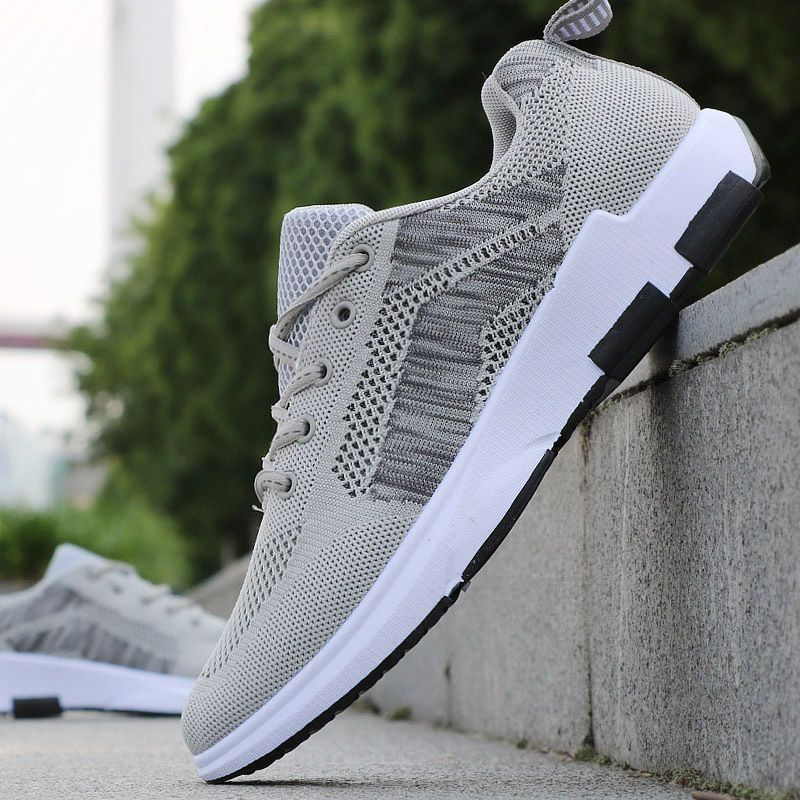49ab8ed464527 Envío Gratuito Moda Para hombres Informales Zapatos Zapatillas Running  Zapatos Deportivos
