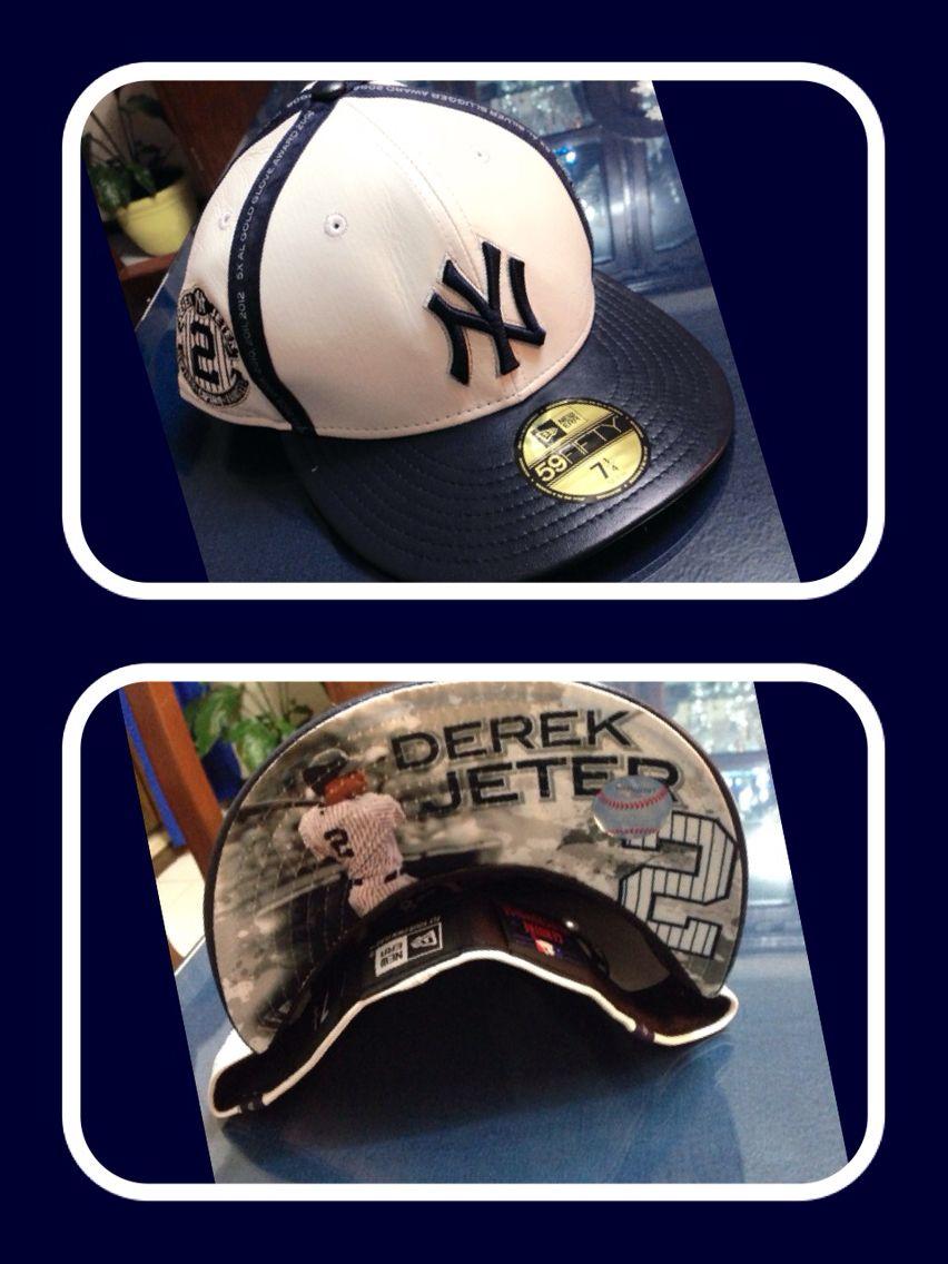 New Era Ny Yankees Derek Jeter Tribute Leather Cap Ny Yankees Derek Jeter Leather Cap