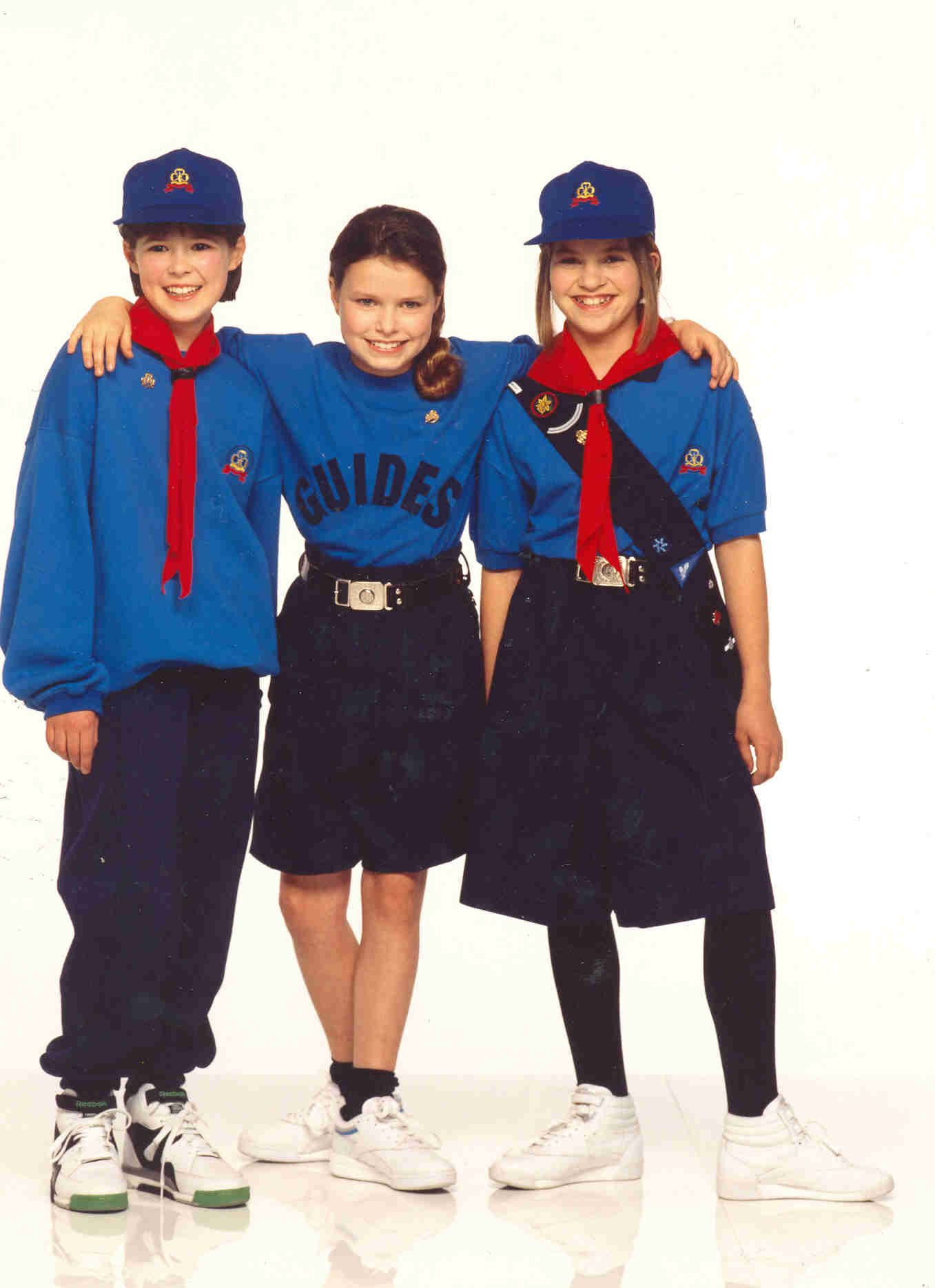 1990 uk girl guide uniform for work fashion women