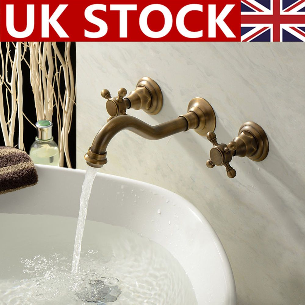 Faucet Type Bathroom Sink Faucet 1 Set Wall Mounted Sink