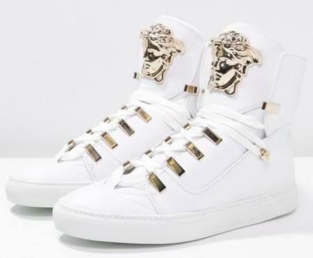 finest selection 32f6e 6c061 Versace Zapatillas Altas Bianco zapatillas Zapatillas Versace Bianco altas  Noe.Moda