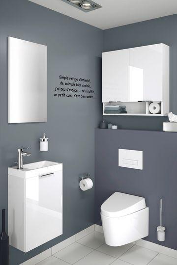 mobilier plat pour salle de bains troite petite salle de bains pratique et mignonne - Salle De Bain Gain De Place