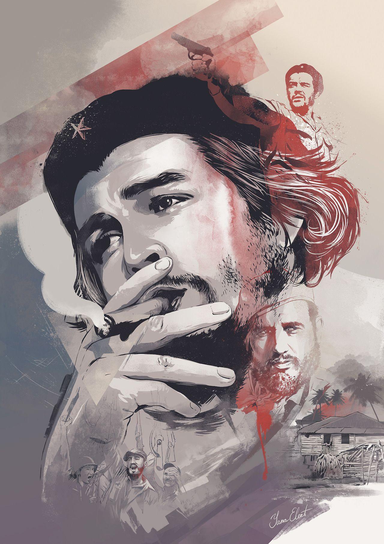 Ernesto Che Guevara Yana Elert Follow Artist On Behance