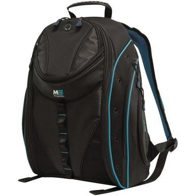 """MOBILE EDGE MEBPE92 16"""""""""""""""" PC/17"""""""""""""""" MacBook(R) Express 2.0 Backpack, Teal"""