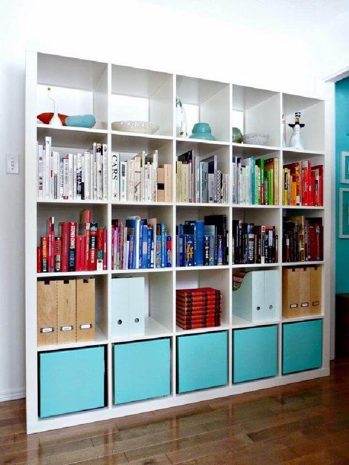 60 Ikea Kallax Shelf Hacks Or Diy Expedit Crafts