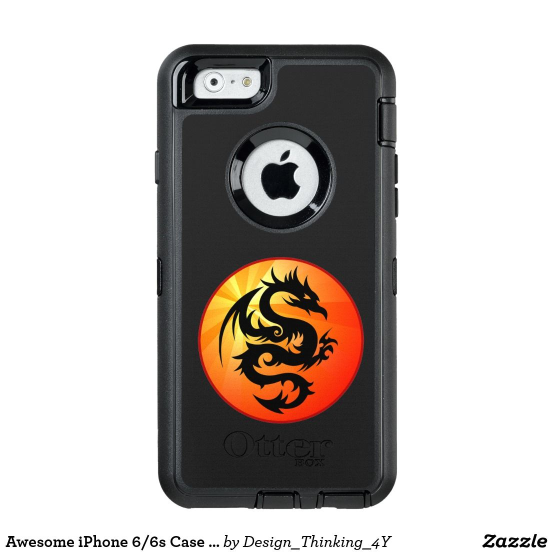 Awesome iphone 66s case in dragon design