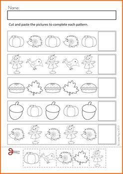 autumn fall math no prep worksheets activities feladatlapok j t kos fejleszt s. Black Bedroom Furniture Sets. Home Design Ideas