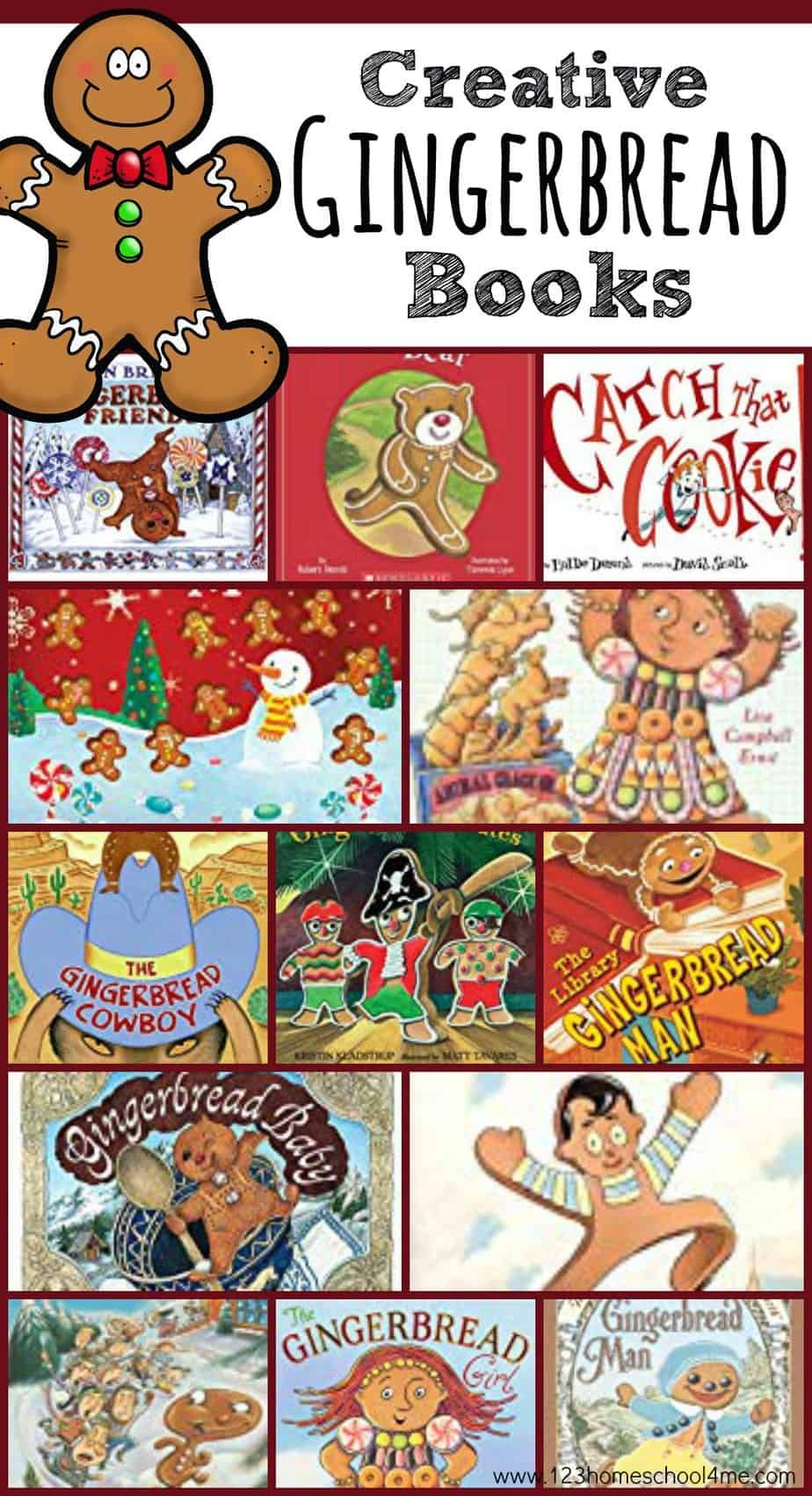 16 Gingerbread Books For Kids Christmas Stories For Kids
