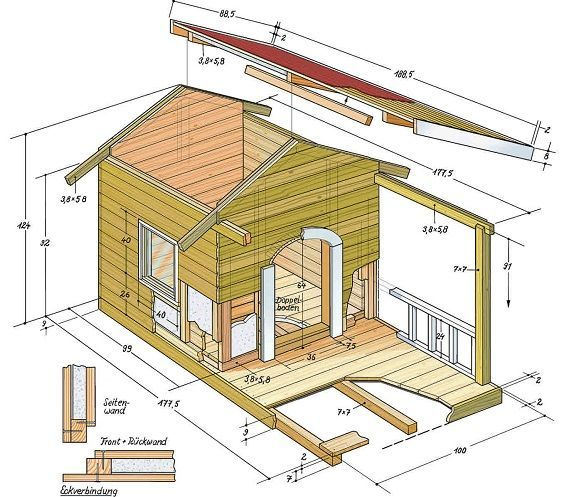 Build A Dog House Yourself Instructions You Can See The
