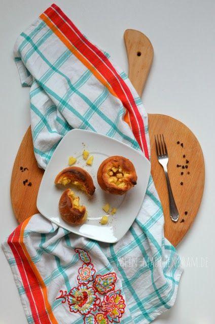 Mädchenkram: Ich backs mir - Apfel-Zimtschnecken-Muffins {Rezept} {vegan} #ichbacksmir #zimtschnecken