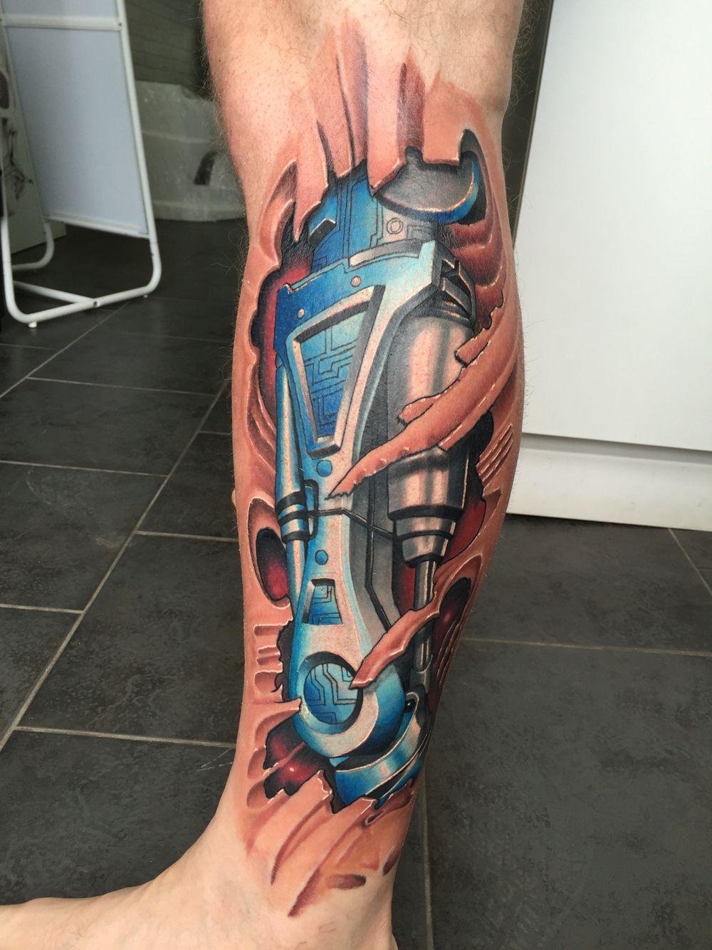 Bio mechanical tattoo Mechanic tattoo, Biomechanical