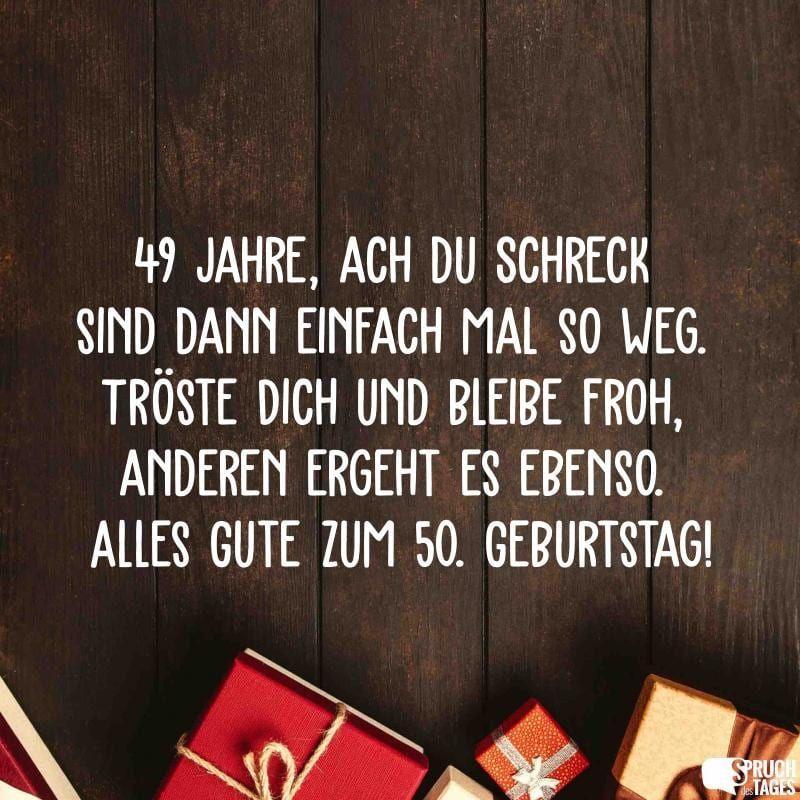 Geburtstag 50 Frau Lustig Spruche Zum 50 Geburtstag 2020 02 16