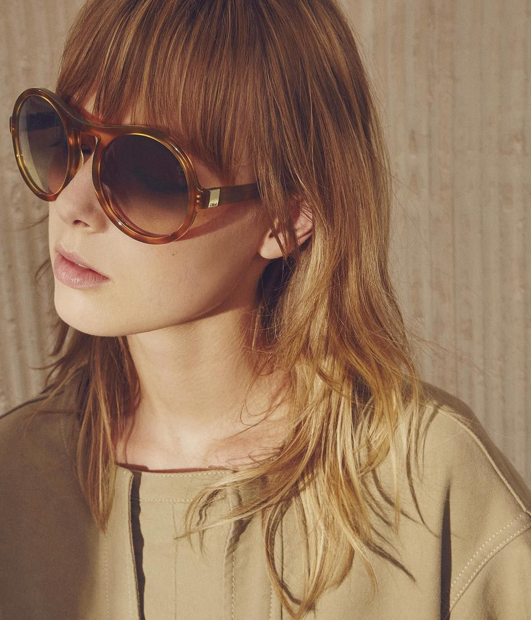 b698fe549a Step into the light –  chloeGIRLS greet the first rays of sun in our Marlow  aviator sunglasses Find your spring shades on chloe.com