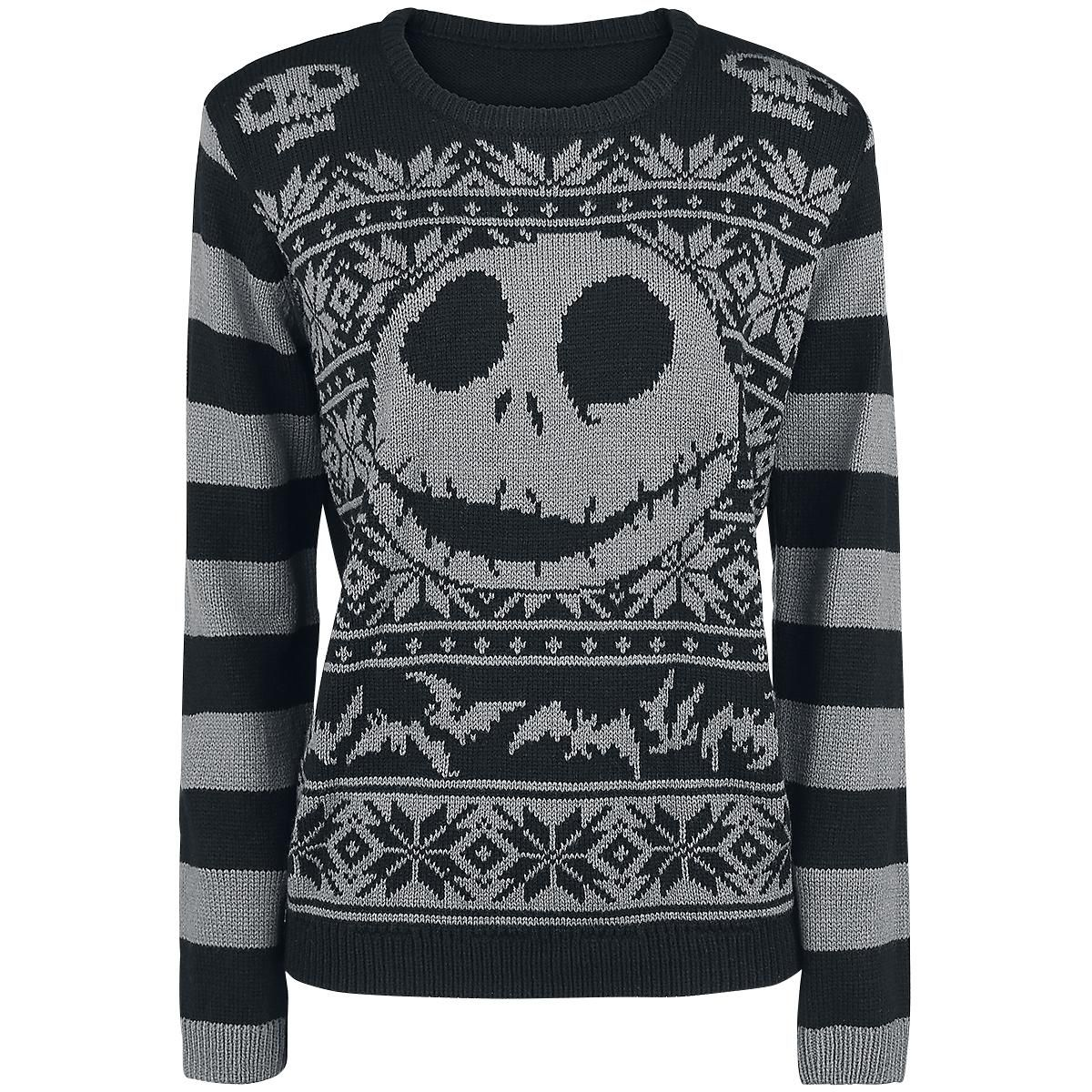 Kersttrui 68.Jack Skellington Christmas Sweater Christmas Jumper Van The