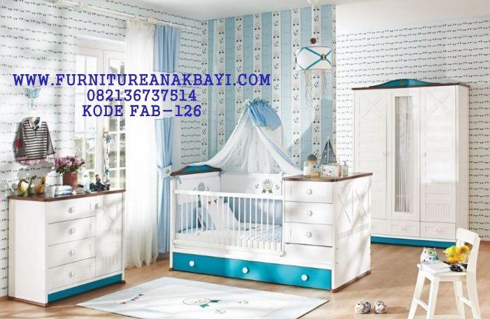 Jual Kamar Set Bayi Modern Minimalis Putih   Modern, Kamar ...