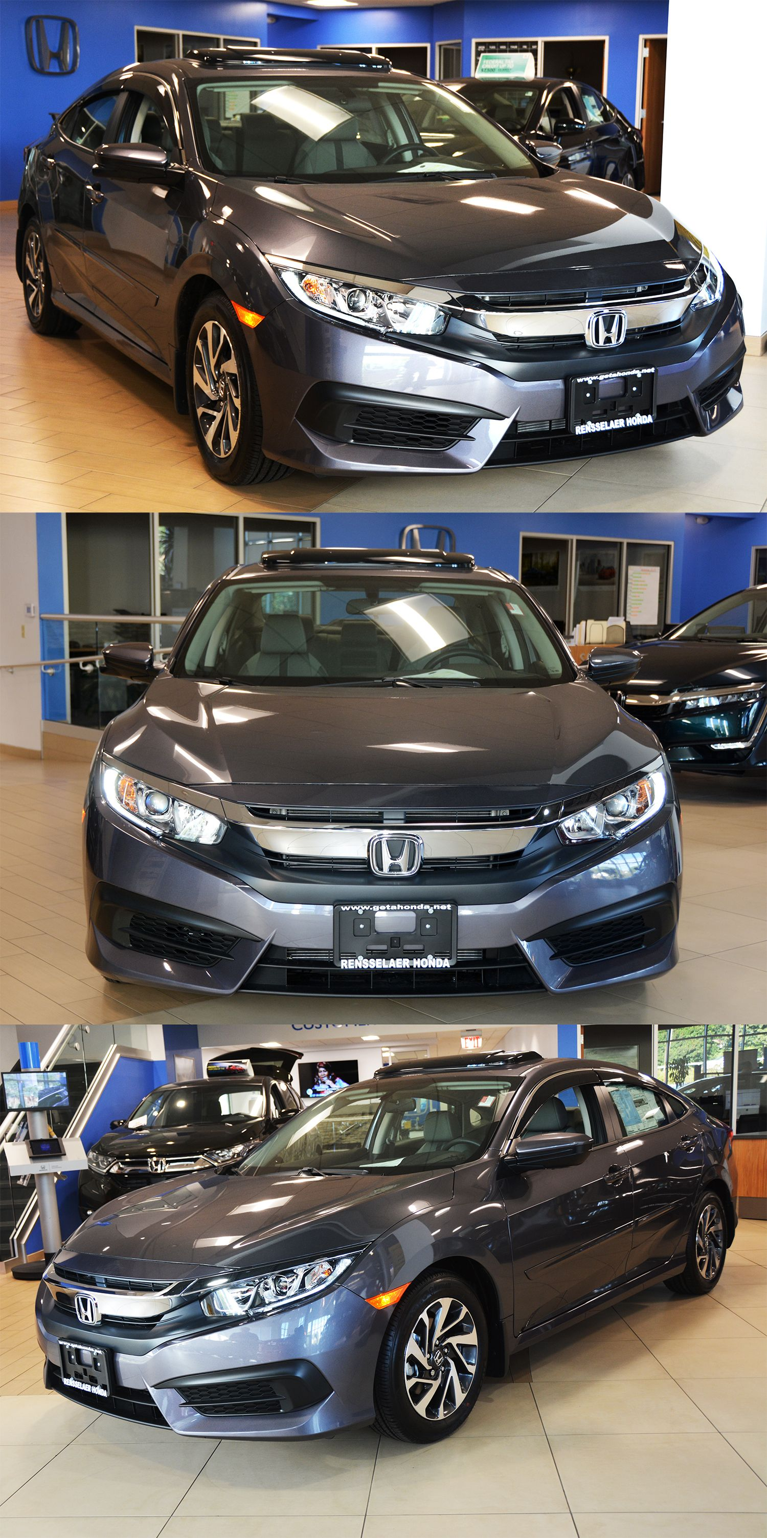 Stop In To Check Out This Civic We Just Put On The Floor We Added Some Essential Accessories Such Including Door Vi Honda Civic For Sale New Honda Honda Civic