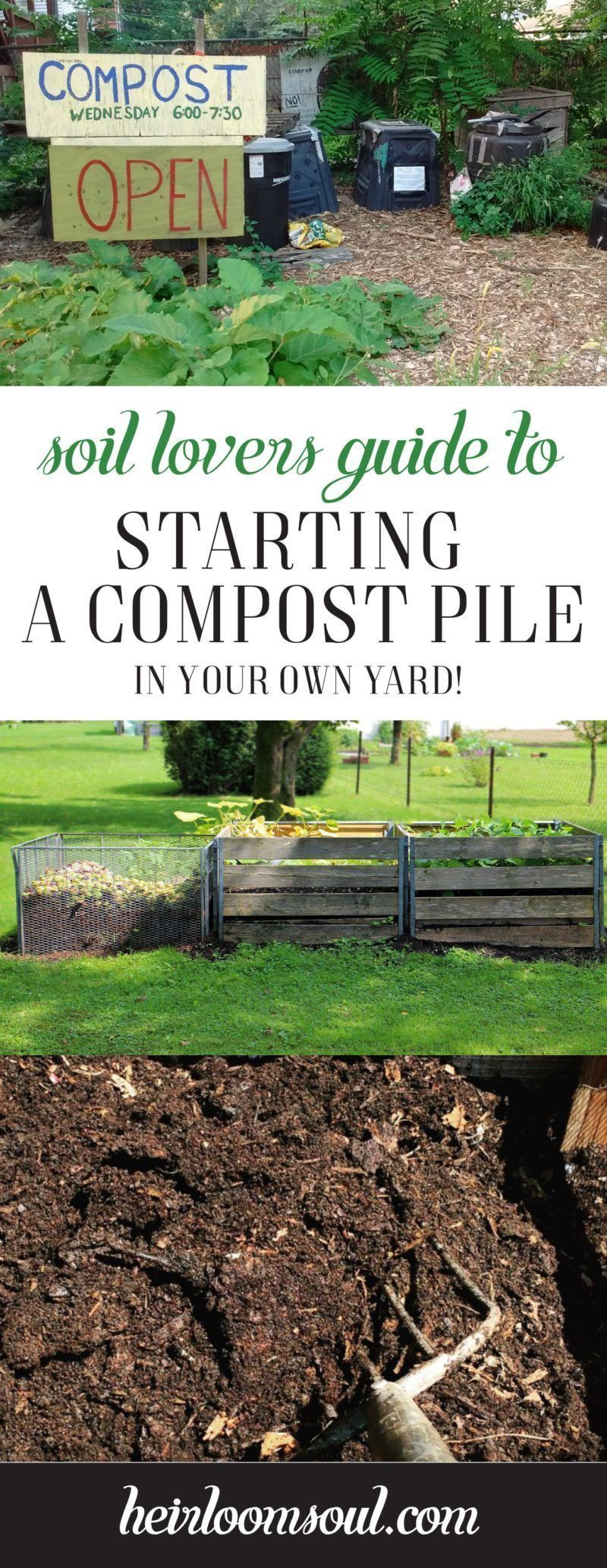 Hot Start a Compost Pile from Kitchen and Garden Scraps  Permaculture Gardening Techniques  Heirloom Soul  How to Start a Biodiverse Compost Pile in Your Yard  A StepbySt...
