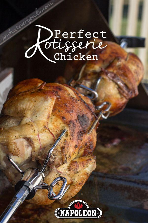 Herbed Rotisserie Chicken Recipe Rotisserie Chicken Recipe Bbq Rotisserie Rotisserie Chicken