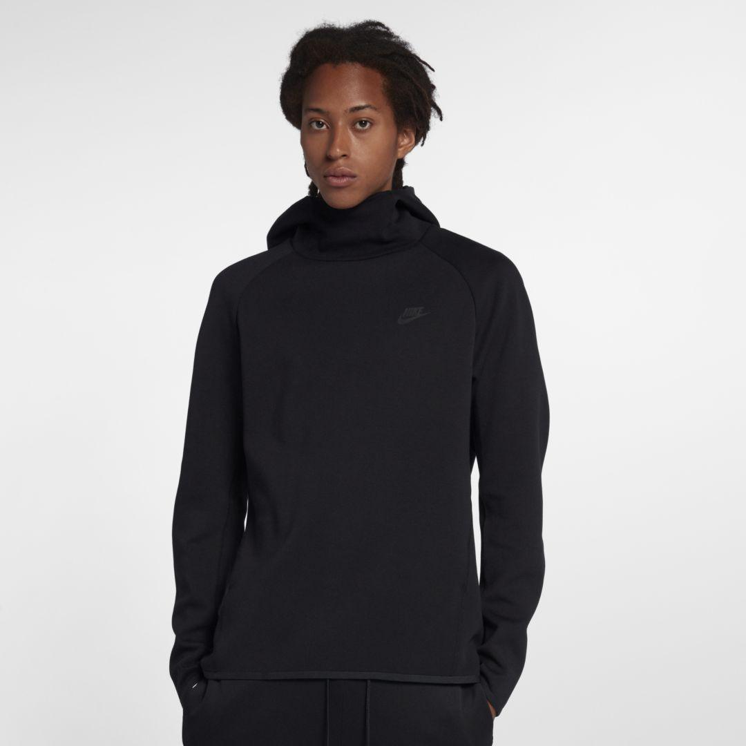 Nike Sportswear Tech Fleece Men s Pullover Hoodie Size XL (Black ... 04a10baef