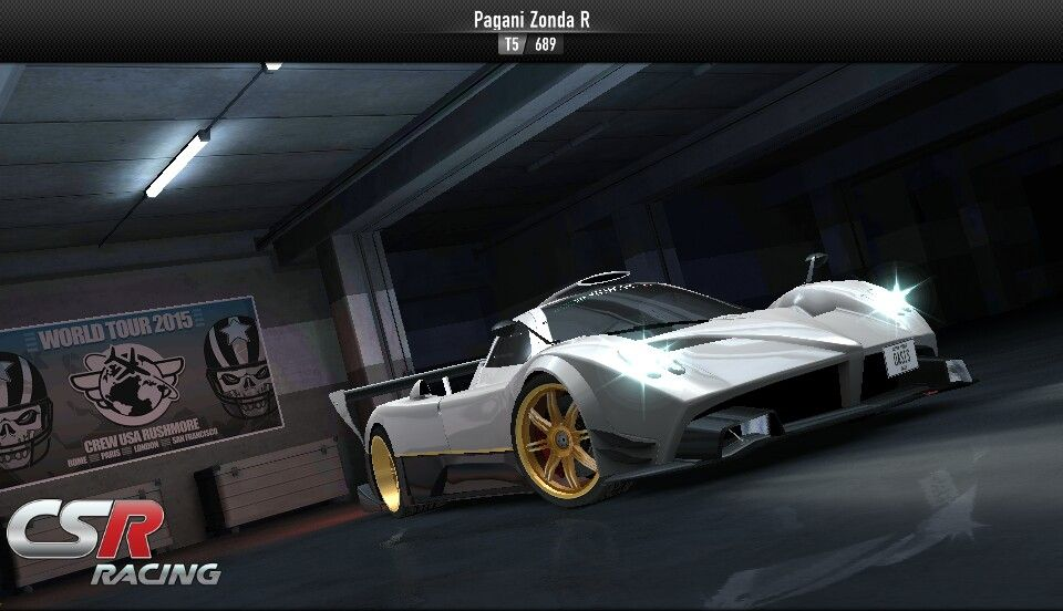 CSR Racing for Android / Pagani Zonda | CSR Racing for Android ...