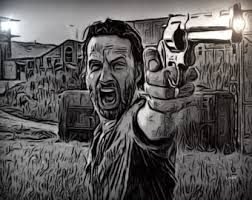 Resultat De Recherche D Images Pour Dessin The Walking Dead The