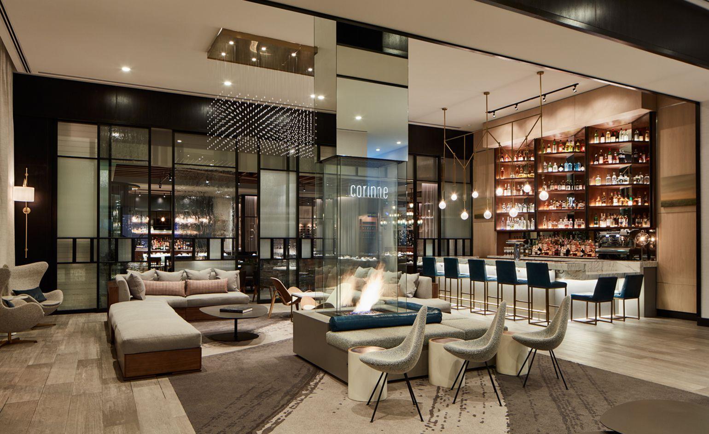 Bar Le French Flair le méridien — denver, usa   top hotels, denver, places to travel