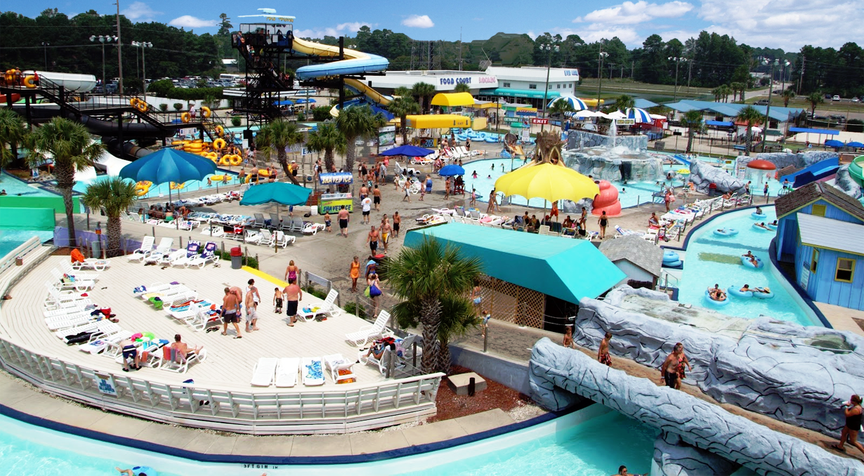 Myrtle Waves Water Park Parks Have A Wonderful Experience By Trying All The Rides And Activities Here At