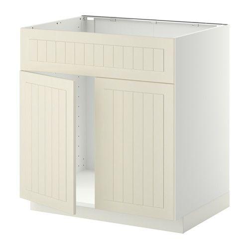 metod unterschr f sp le 2 t ren front wei veddinge grau new house kitchen cabinets. Black Bedroom Furniture Sets. Home Design Ideas