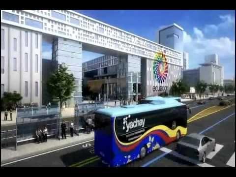 Ciudad Yachay,Una realidad. Inicia su construcción.