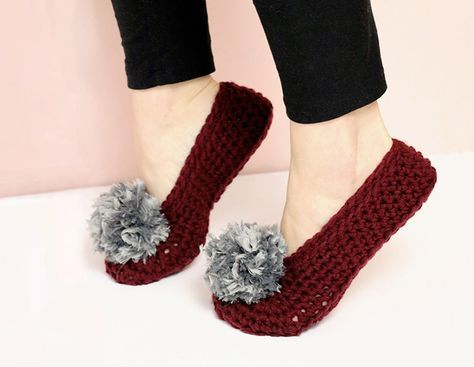 Crochet Slippers: Free Crochet Pattern - Consumer Crafts | Free ...