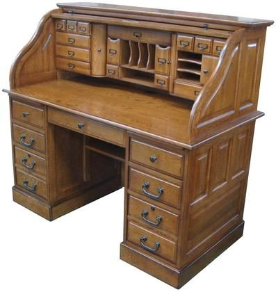 Marlin Collection 828954 D Bw 54 Roll Top Desk Top With 27