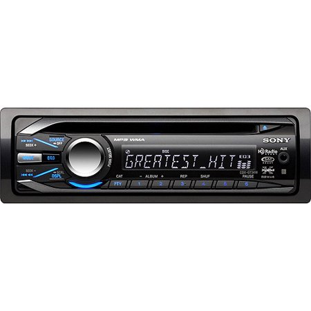 sony xplod cdx gt34w car cd receiver, blue products in 2019 sony