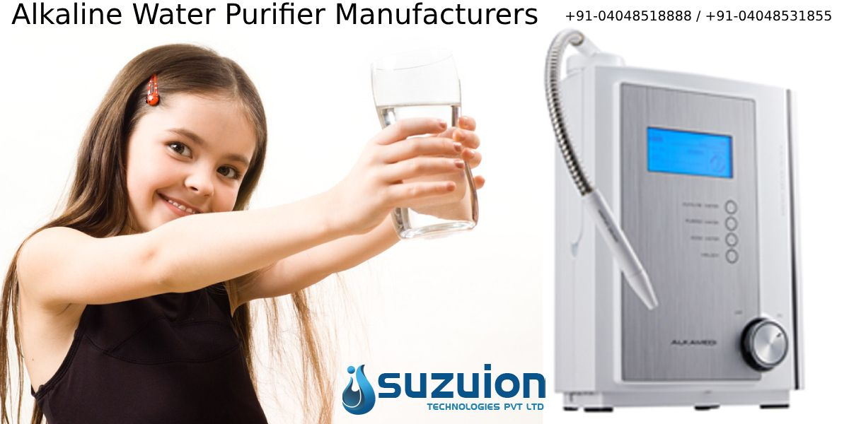 Suzuiontechnologies Pvt Ltd Manufacturers Alkalinewaterpurifier In India At An Affordable Cost More Info Vis Alkaline Water Water Purifier Ro Water Purifier
