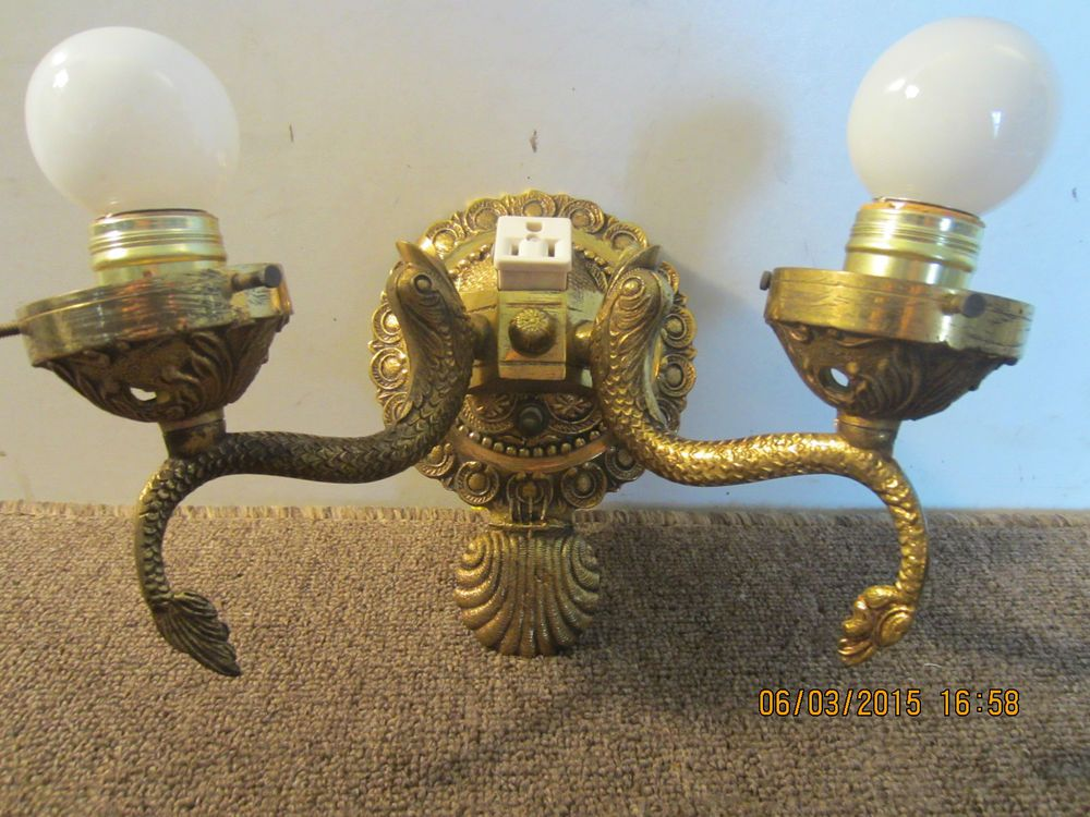 NAUTICAL FISH MOTIF BRASS ELECTRIC SCONCE · Lighting ShopsKoiTiny ... & NAUTICAL FISH MOTIF BRASS ELECTRIC SCONCE | Koi | Pinterest ... azcodes.com