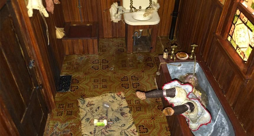 How Dollhouse Crime Scenes Schooled 1940s Cops Science